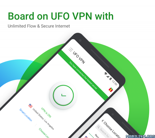 Download)++UFO VPN - Premium Proxy Unlimited & VPN Master v2
