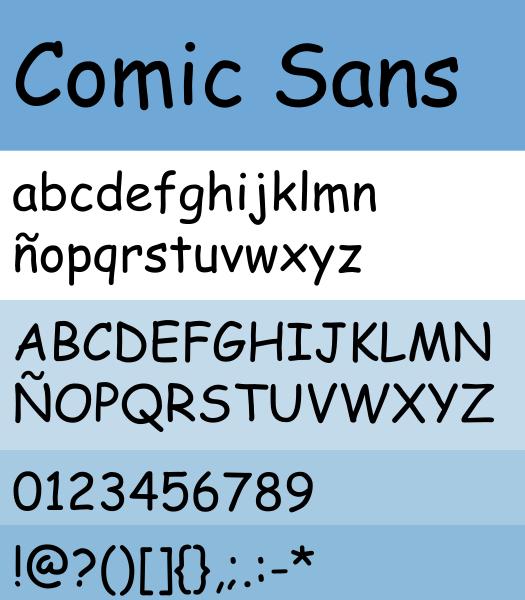 File:Comic Sans Mostra.svg