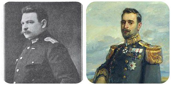Αριστερα: Ο Βίκτωρ Δούσμανης (1862 - 1949) - Δεξια: Ο Σοφοκλής Δούσμανης (1868 - 1952) ήταν Έλληνας ναύαρχος του Πολεμικού Ναυτικού