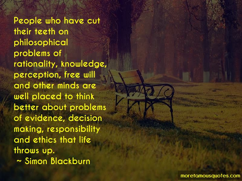 Ethics Decision Making Quotes Top 4 Quotes About Ethics Decision