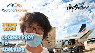 Download Regional Express Rex Saab 340 Coober Pedy To Adelaide Flight Review From Outback To The Beach In Hd Mp4 3gp Codedfilm