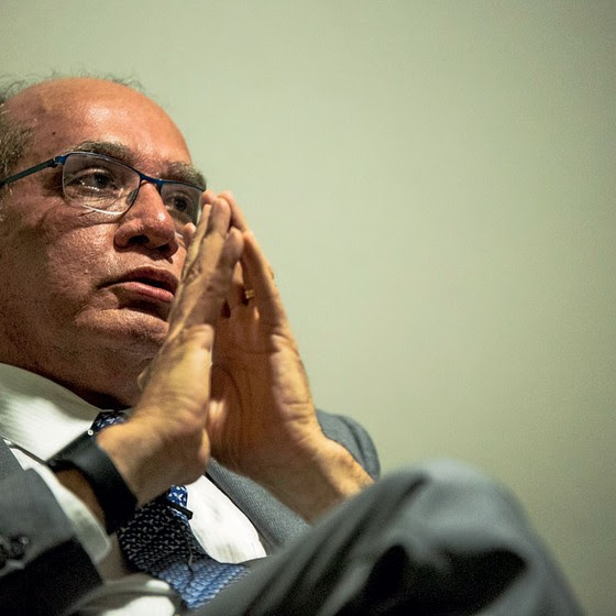 O Ministro Gilmar Mendes  (Foto:  Suamy Beydoun/AGIF/AFP)