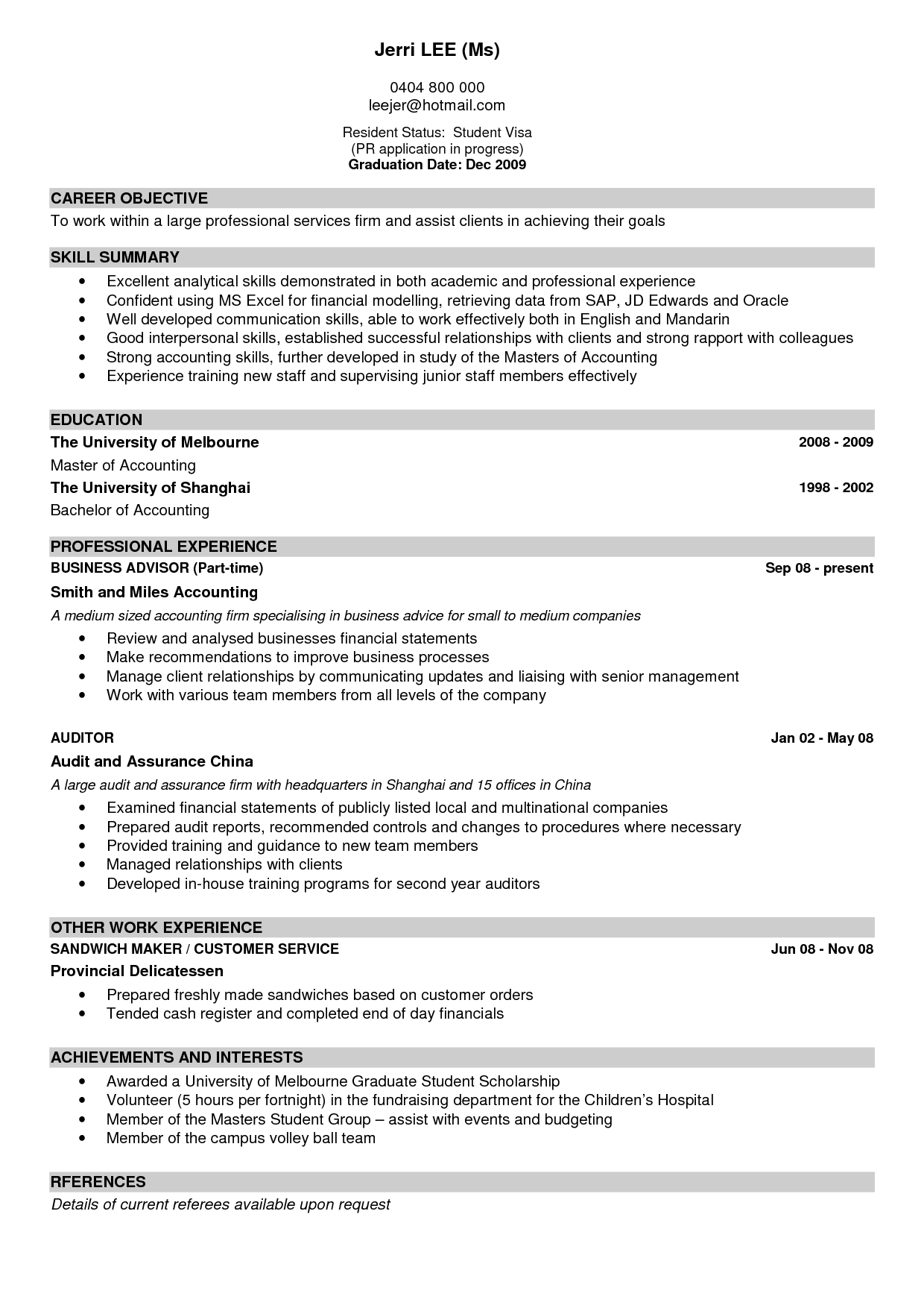 Cv Layout Examples from lh5.googleusercontent.com