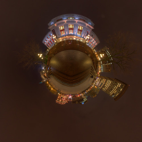 Youvilloid RAW Stereographic - Panorama in Quebec City