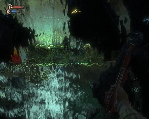 BioShock隨處可以見的瀑布特效
