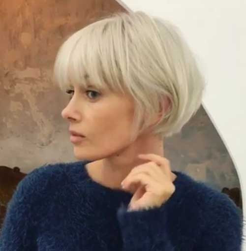 Short Bob Hairstyles 2018 With Fringe