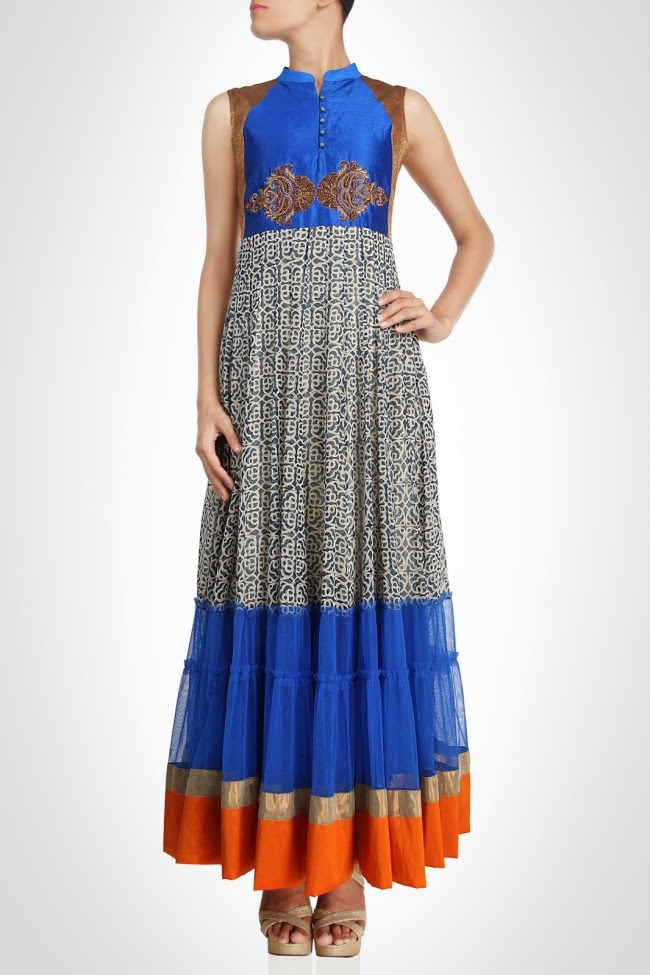 Girls-Wear-Beautiful-Maxi-Anarkali-Fashion-Frock-Fashion-by-Designer-Debashri-Samanta-1