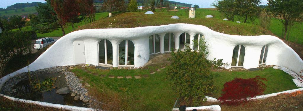 Casa oásis oculta sobre a terra na Suíça 15
