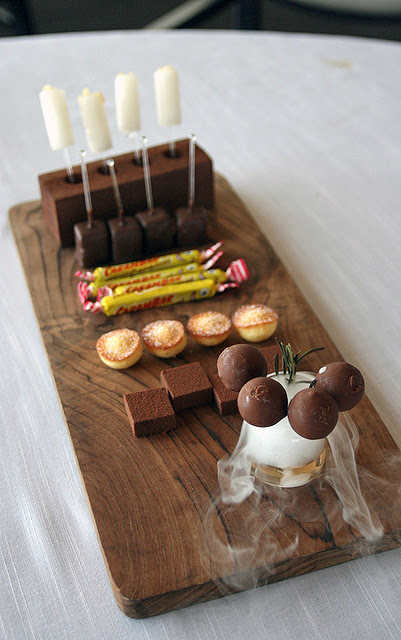 Petit fours from JAAN