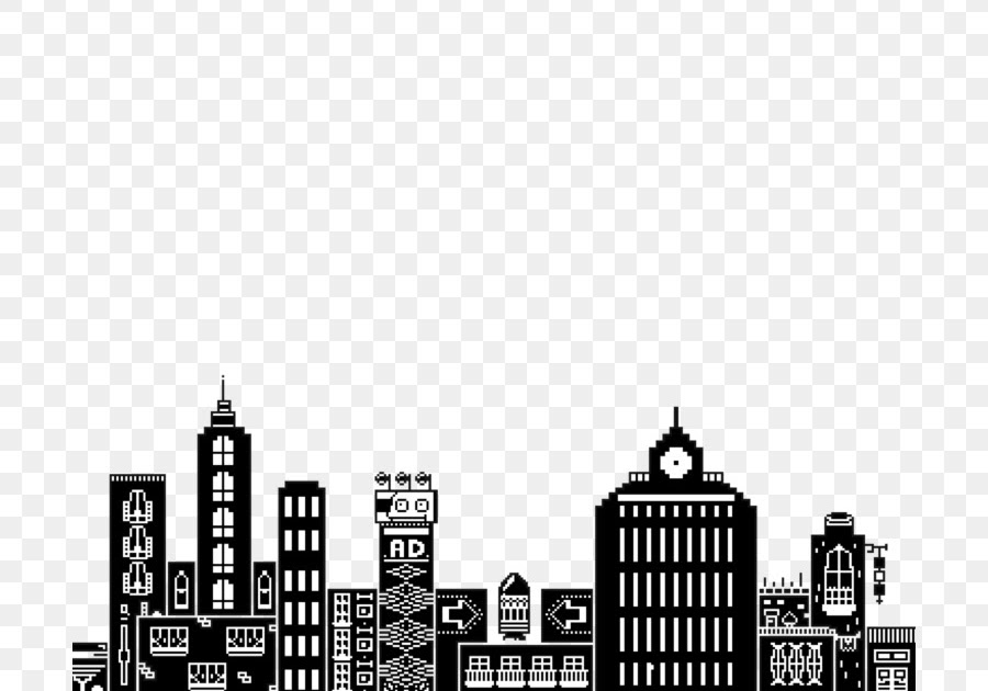 Koleksi 7400 Gambar Animasi Kota Hitam Putih Hd Paling Baru