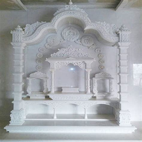 home marble temple  rs  piece white marble