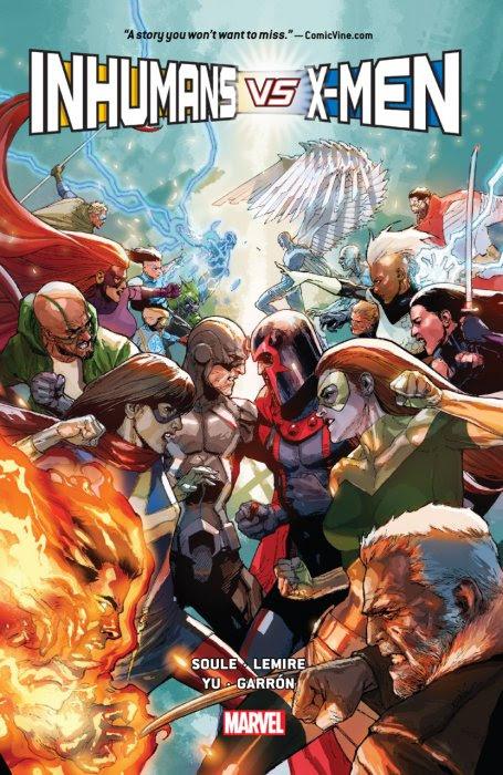 Inhumans Vs. X-Men #1 - HC