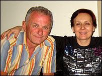Zdravko Georgiev with his wife Kristina Valcheva in Libya (photo: Dr Georgiev)
