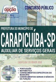 apostila AUXILIAR DE SERVIÇOS GERAIS