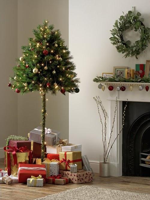 """El """"medio árbol navideño"""" a prueba de gatos que está arrasando en Internet"""