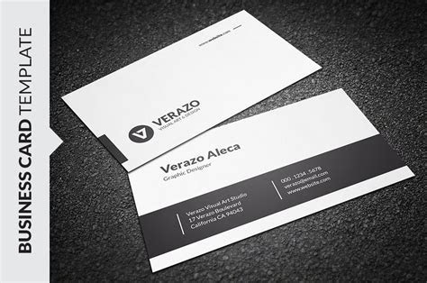 Modern Minimalist Business Card ~ Business Card Templates