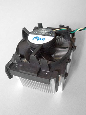 Deutsch: CPU-Kühler, Boxed Version von Intel f...