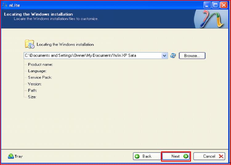 SATA Drivers - Slipstream into Windows XP CD-4.png