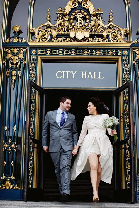 City Hall Wedding   San Francisco   Josalyn   Chris   San