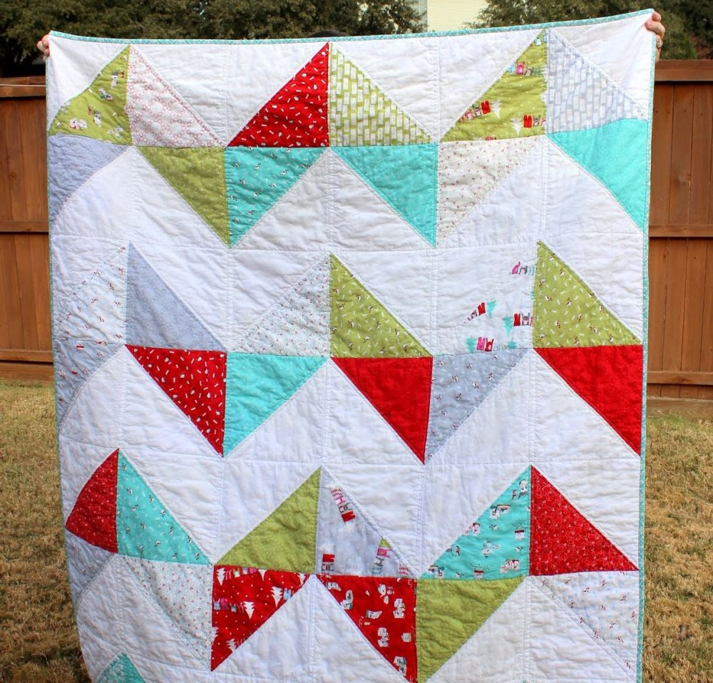 The Two-Day Lap Quilt