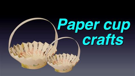 amazing paper cup crafts diy  paper cups life