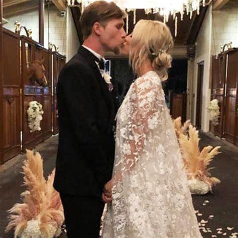 Johnny Galecki at Kaley Cuoco and Karl Cook's Wedding