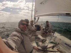 J/80 Campaign sailing team in France