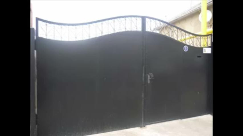 Simple Main Gate Design In Steel Gharexpert