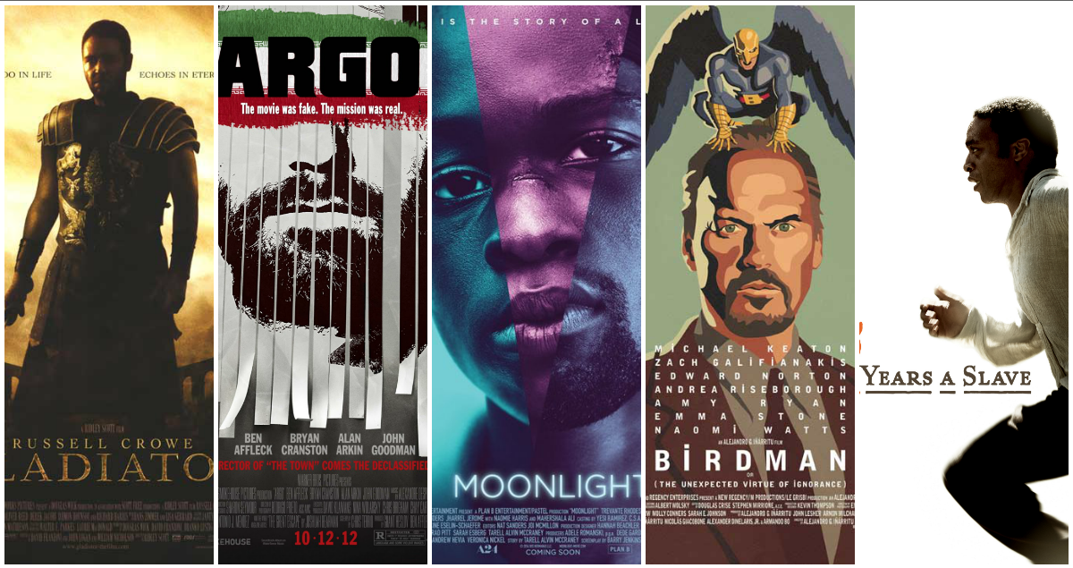 Oscar Best Picture Winners of the 21st Century, Ranked ...