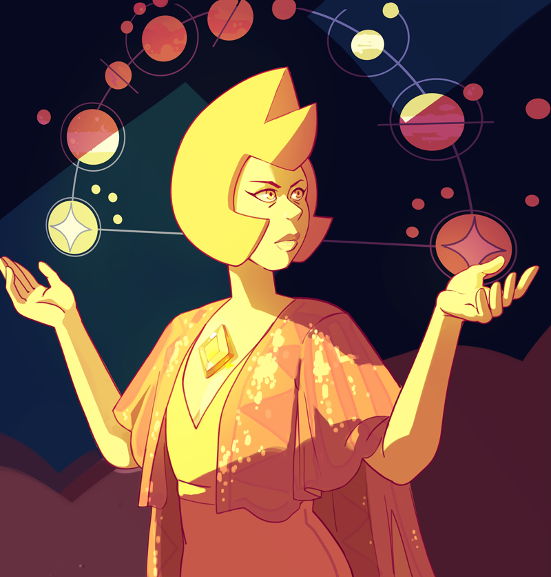 Yellow Diamond Bonus: Yellow Pearl is very talented