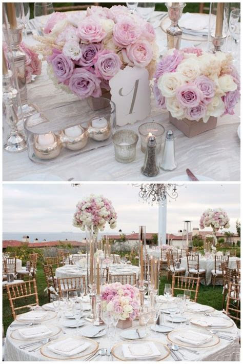 1000  ideas about Blush Wedding Centerpieces on Pinterest