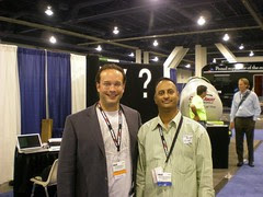 Blog World Expo 2008: Jay Berkowitz and Shashi Bellamkonda