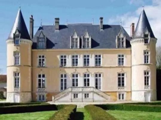 Castelo na Normandia