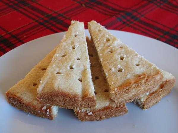Shortbread cut