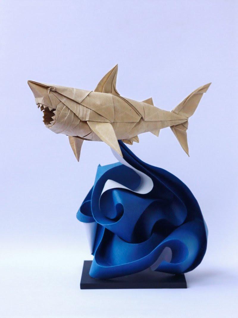 Os incríveis origamis de Nguyen Hung Cuong 02
