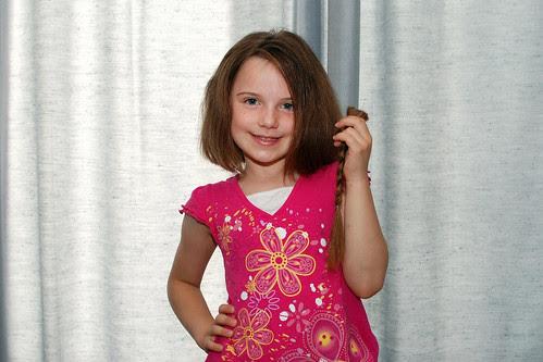 Evelyn's Haircut!