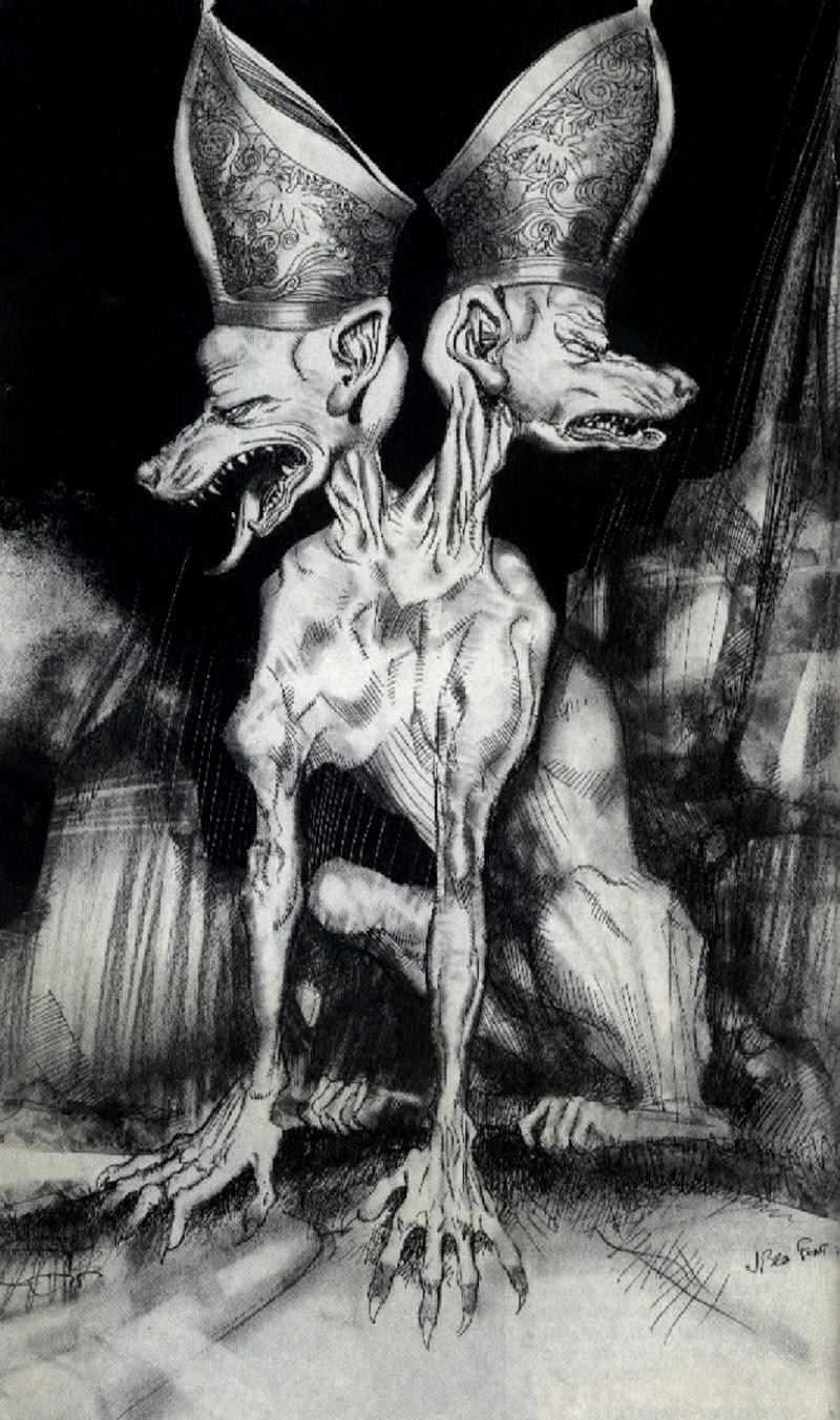 Josep M. Beá - Lovecraft Monster Gallery - 13