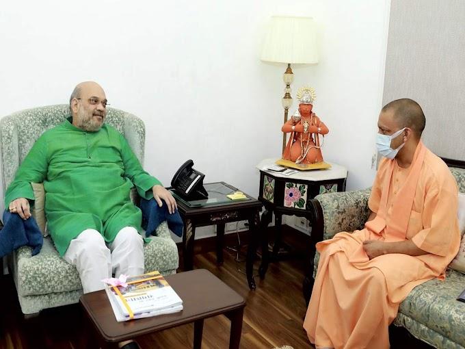 Buzz of rejig in Lucknow & Delhi as Yogi meets Amit Shah