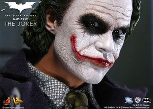 The Joker toy figure, in all its sadistic, clownish glory.