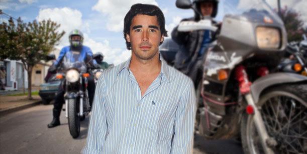 Las insólitas vacaciones de Nacho Viale: en moto y con su padre por Europa