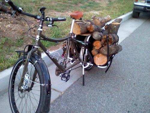 Wood hauling - first load