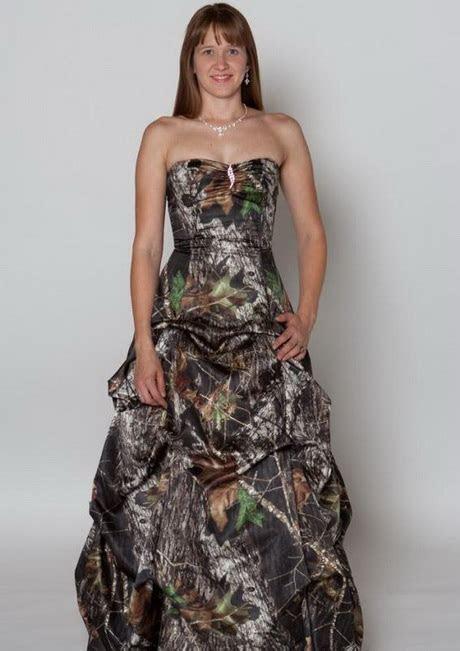 Cheap camo prom dresses