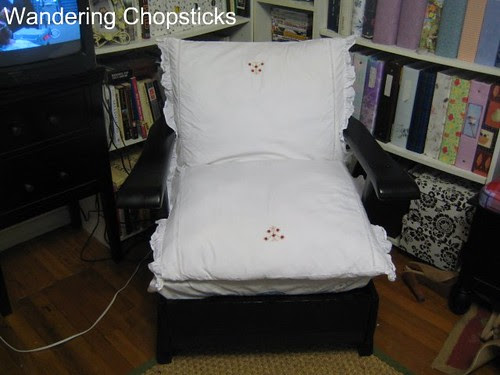 Before and After Wooden Arm Chair 14