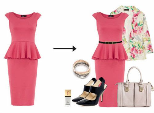 How To Style a Peplum Dress
