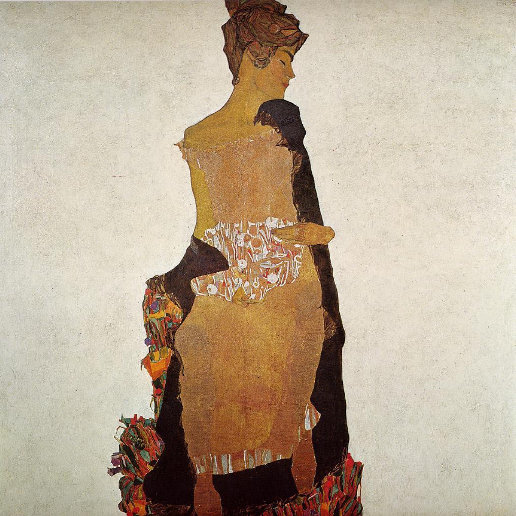 Portrait of Gerti Schiele by Egon Schiele