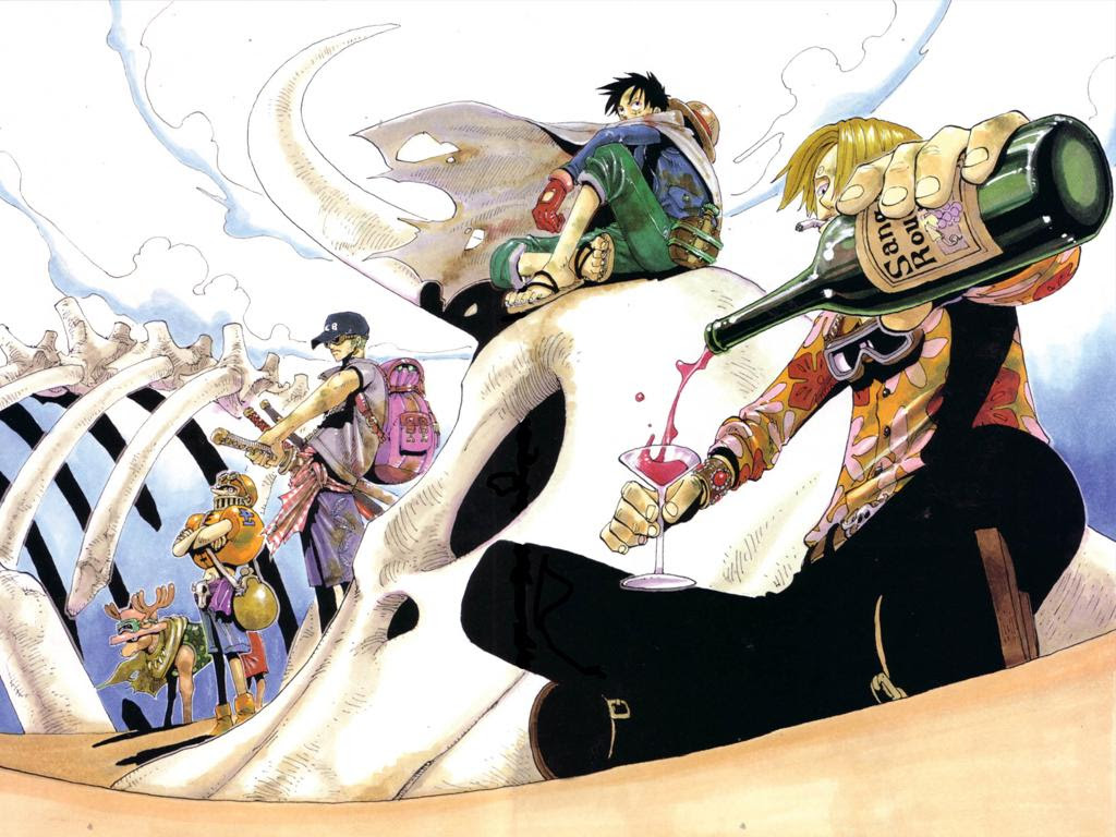 Bysonworld 壁紙 One Piece