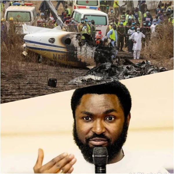 How popular Abuja-based cleric, Omale prophesied Sunday plane crash