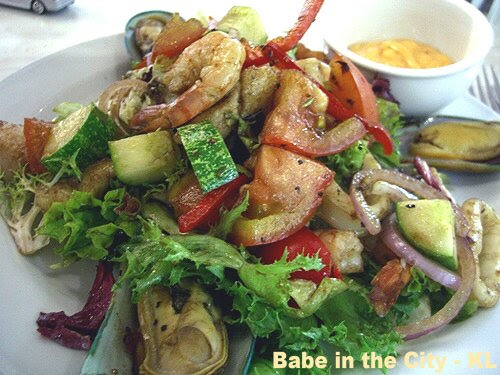 Seafood Salad at Dome