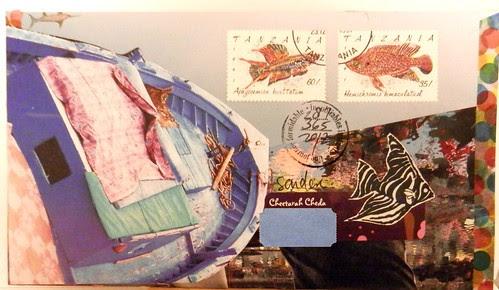 Mail art 365-287 back by Miss Thundercat
