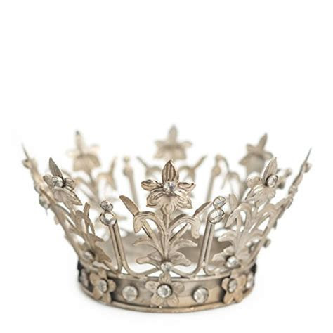 Crown Cake Topper, Silver Crown, Vintage Crown, Fiona